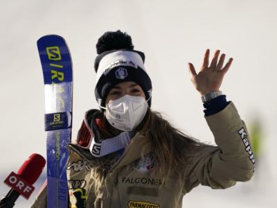 """Sci alpino, Marta Bassino: """"Vincere con queste condizioni è fantastico. Felice per avere inflitto grandi distacchi"""""""