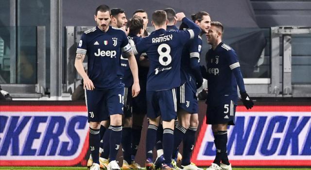 Juventus-Sassuolo 3-1, Ramsey e Cristiano Ronaldo decisivi nel finale. Bianconeri a -7 dal Milan