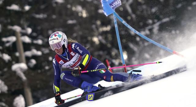 Sci alpino, perché Marta Bassino non ha disputato la prima prova a Crans Montana