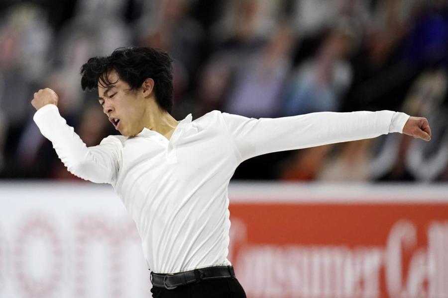 Pattinaggio artistico: Nathan Chen trionfa ai Nazionali Statunitensi per la quinta volta consecutiva, secondo Zhou