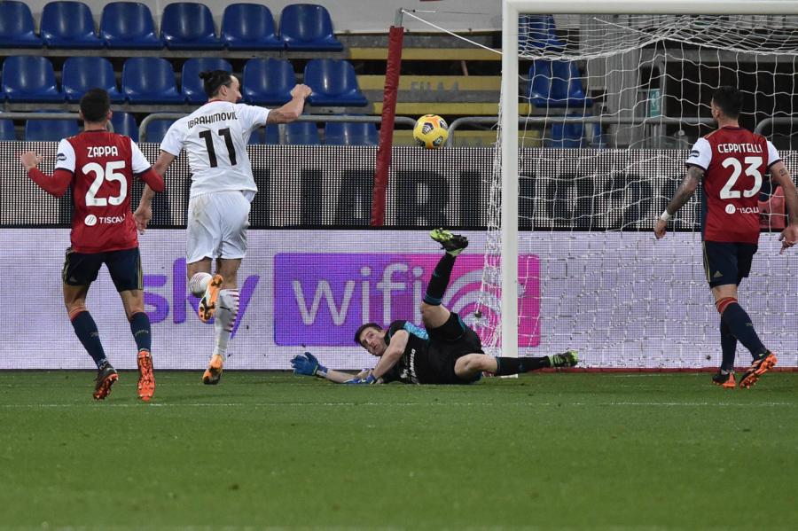VIDEO Cagliari Milan 0 2: highlights e sintesi. Ibrahimovic implacabile