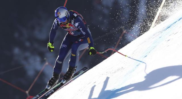 Sci alpino, cancellata la discesa di Kitzbuehel: pioggia e neve sulla Streif. Attesa per il programma di domani