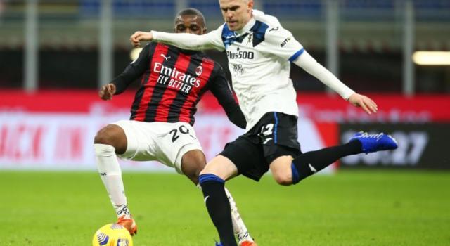 Calcio: Inter pari a Udine, espulso Conte. Milan travolto dall'Atalanta, ma campione d'inverno in Serie A 2021. Roma nel finale sullo Spezia