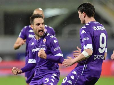 Calcio: Fiorentina vittoriosa sotto l'acqua sul Crotone nell'anticipo serale della 19a giornata di Serie A