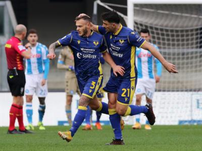 VIDEO Verona-Napoli 3-1: highlights, gol e sintesi. Dimarco, Barak e Zaccagni ribaltano Lozano: partenopei ko