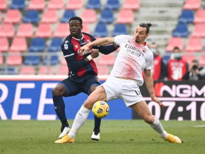 VIDEO Bologna-Milan 1-2, Highlights, gol e sintesi: Rebic e Kessiè a segno. Ibrahimovic sbaglia un rigore!