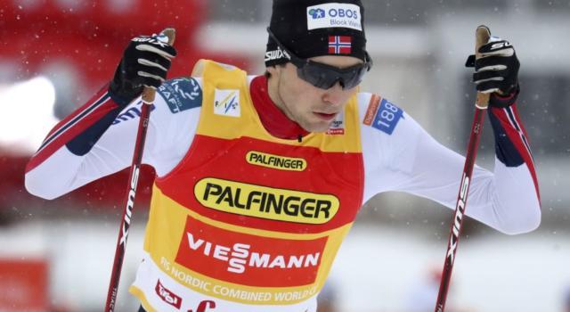 Combinata nordica, Jarl Magnus Riiber vince a Klingenthal e conquista la terza Sfera di Cristallo