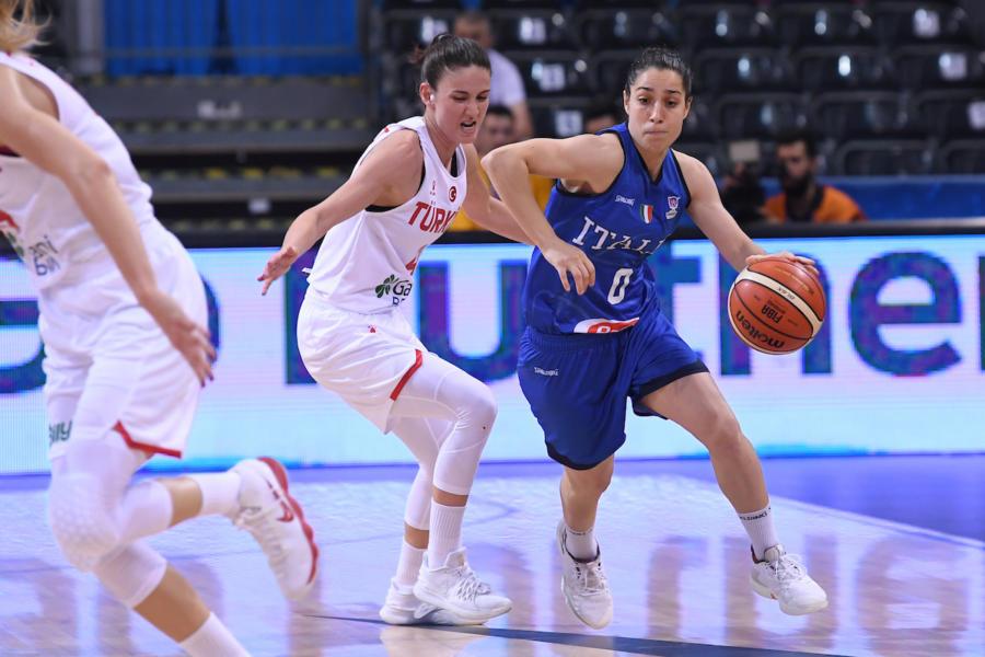 """Basket, Caterina Dotto: """"Cercavo una squadra che non avesse bisogno di me. Al Geas ambiente professionale"""""""