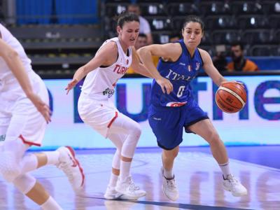 Basket femminile: Caterina Dotto sceglie il Geas per il ritorno in campo