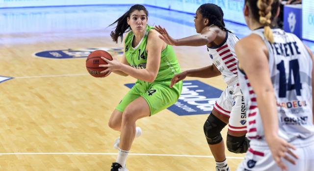 Basket femminile, Serie A1: Lucca, prima vittoria del 2021. Successi esterni per Virtus Bologna, Broni e Geas