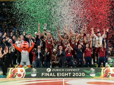 Tabellone Coppa Italia basket 2021: programma, orari, tv, accoppiamenti. Il calendario completo delle Final Eight