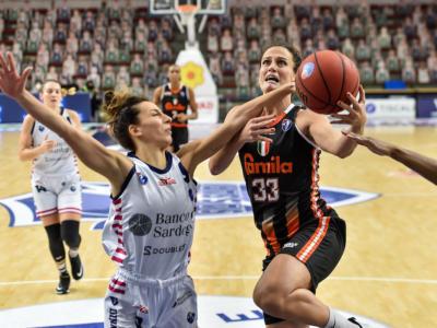 Basket femminile: Harmon e Gruda fanno volare Schio, che espugna Empoli nell'anticipo della 16a di Serie A1