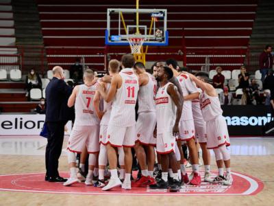 Basket, Serie A 2020-2021: ufficiale il rinvio di Germani Brescia-Openjobmetis Varese a data da destinarsi