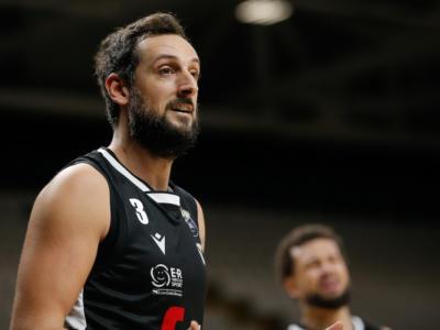 LIVE Trento-Virtus Bologna 85-92, Serie A basket in DIRETTA: Teodosic trascina le V Nere al successo