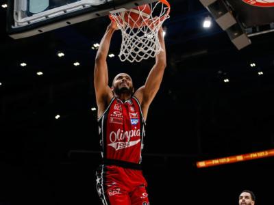 Basket: Olimpia Milano, niente Shavon Shields per almeno dieci giorni