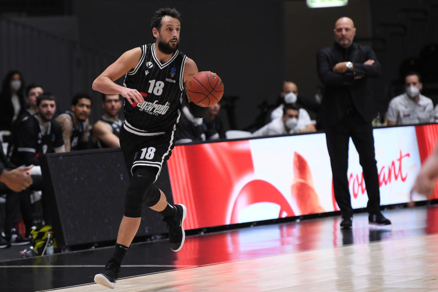 LIVE Bourg en Bresse Virtus Bologna 44 47, EuroCup basket in DIRETTA: primo tempo equilibrato in Francia