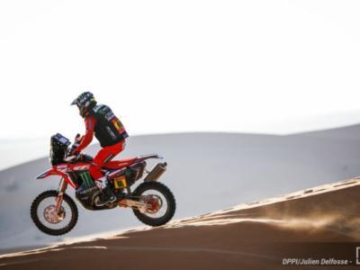 Dakar 2021, Joan Barreda domina la quarta tappa tra le moto e si porta a 15″ dal nuovo leader De Soultrait