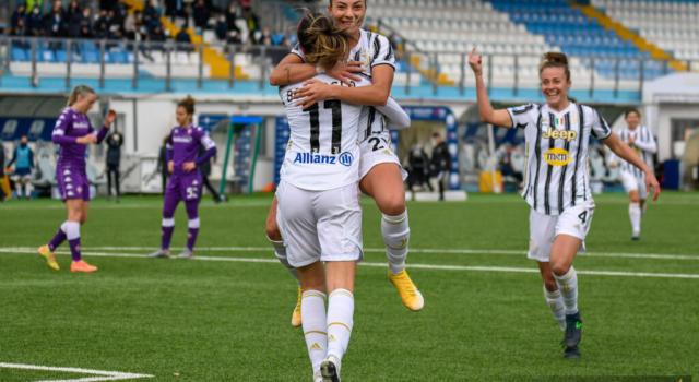 Calcio, Supercoppa Italiana femminile: la Juventus supera 2-0 la Fiorentina. Decisiva la doppietta di Bonansea