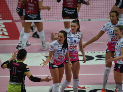 Volley femminile, Serie A1: Novara affossa Scandicci ed è seconda
