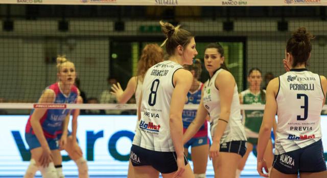Volley femminile, Serie A1: Chieri batte Scandicci ed è quarta! Perugia vince lo scontro salvezza con Brescia