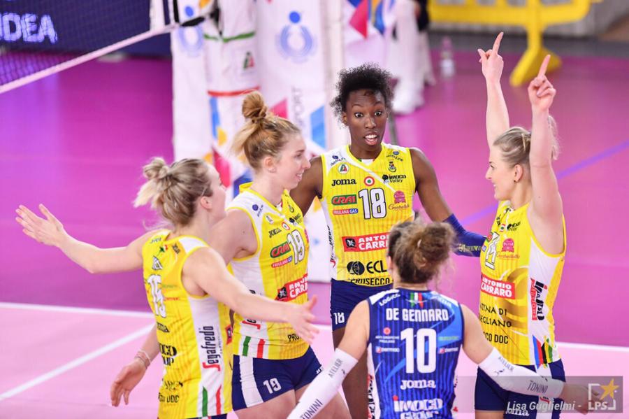 Conegliano Nantes oggi: orario, tv, programma, streaming Champions League volley