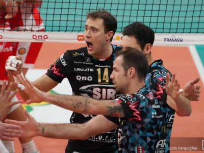 Volley, Coppa Italia: Trento batte Milano, Perugia suda con Ravenna. Sarà super sfida in semifinale