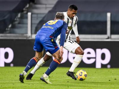 Calcio, Alex Sandro positivo al Covid-19, il brasiliano già isolato salterà il big match contro il Milan