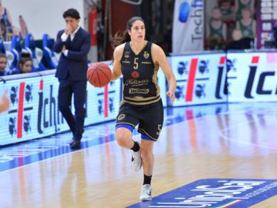 Basket femminile: Gorini trascina Campobasso, Sassari battuta nel recupero della Serie A1