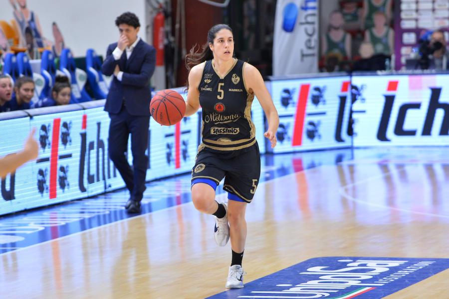 Basket femminile: Gorini trascina Campobasso, Sassari battuta nel recupero della 6a giornata di Serie A1