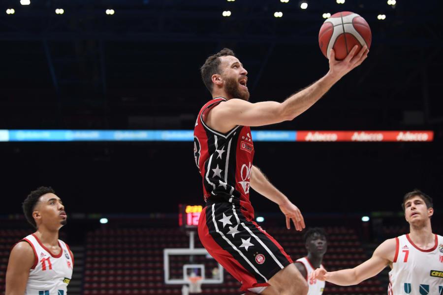 Basket, Serie A 2021: Milano chiude l'andata contro una Cremona a caccia della Final Eight
