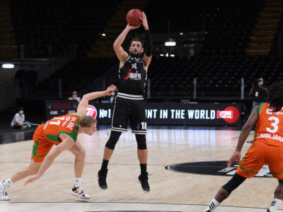 Basket, Eurocup 2020-2021: la Virtus sfida Buducnost, mentre Trento scenderà in campo contro Boulogne-Levallois
