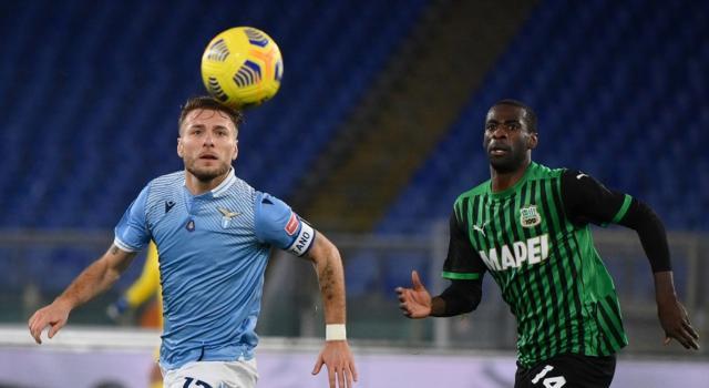 Calcio, Serie A 2021: Lazio-Sassuolo 2-1, Ciro Immobile regala i tre punti ai biancocelesti