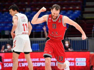 Basket: Milano non perdona, Olimpia travolgente. Bayern al tappeto, quarta vittoria di fila in Eurolega 2021