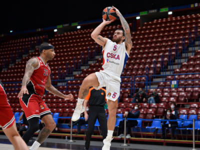 Basket: Mike James sospeso dal CSKA Mosca