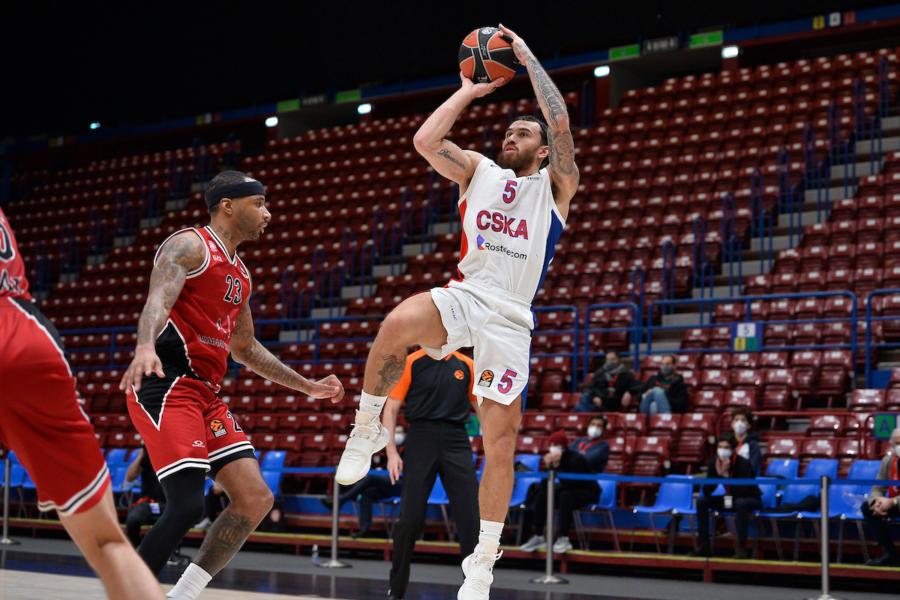 Basket: Mike James sospeso dal CSKA Mosca
