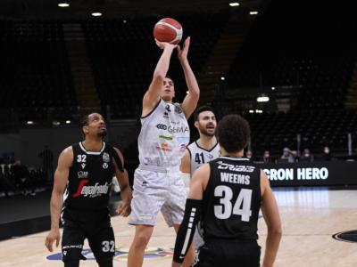Basket, Serie A 2021: Bortolani trascina Brescia al colpo in casa della Virtus Bologna, ok Reggio Emilia