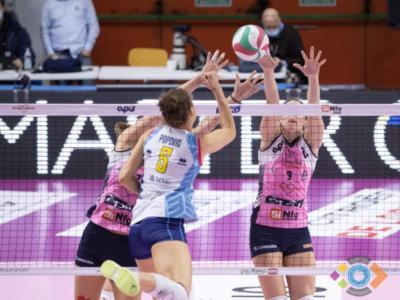 Volley femminile, serie A1, 18. giornata. Scandicci riparte alla grande espugnando (1-3) Casalmaggiore