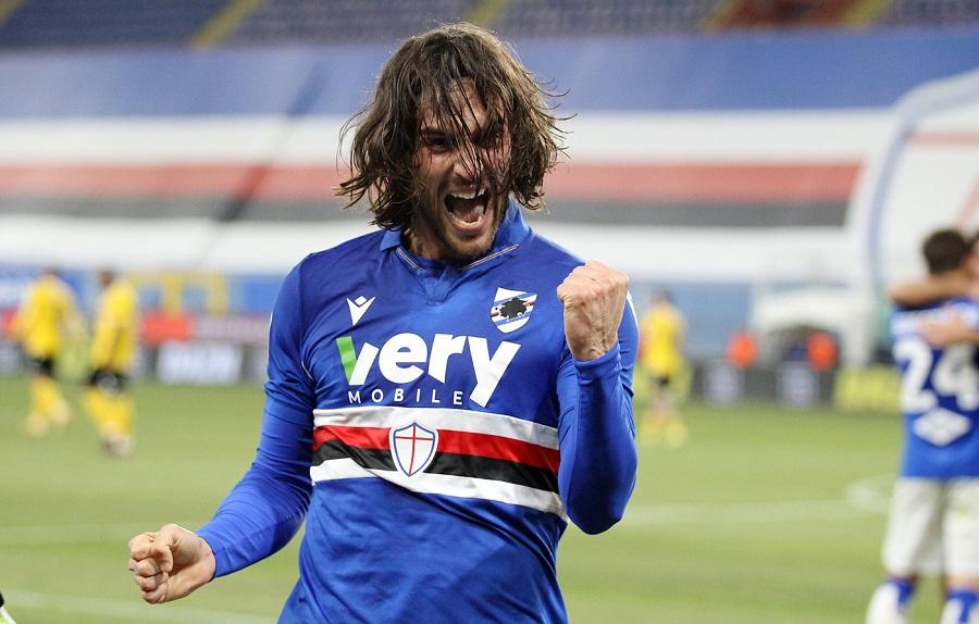 Calcio, Serie A 2021: Sampdoria Udinese 2 1, Ernesto Torregrossa decide la sfida a Marassi