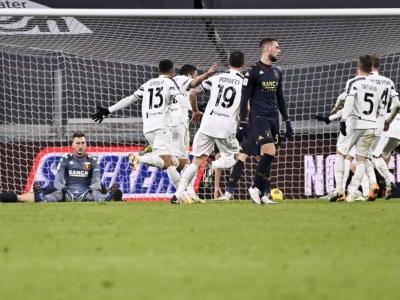VIDEO Juventus-Genoa 3-2 d.t.s., Highlights, gol e sintesi: Rafia regala i quarti ai bianconeri nei tempi supplementari