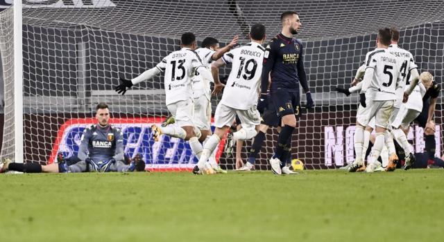 VIDEO Juventus-Genoa 3-2 d.t.s., Highlights, gol e sintesi: Rafia regala i quarti ai bianconeri nei tempi supplementari