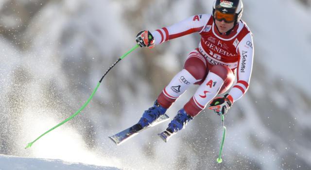 Sci alpino, startlist discesa Kitzbuehel 23 gennaio. Programma, orari, tv, pettorali di partenza