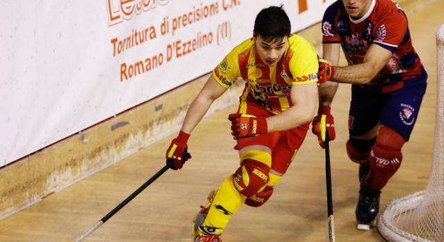 Hockey pista, Serie A1 2021: Bassano supera 3-1 Correggio nel posticipo domenicale
