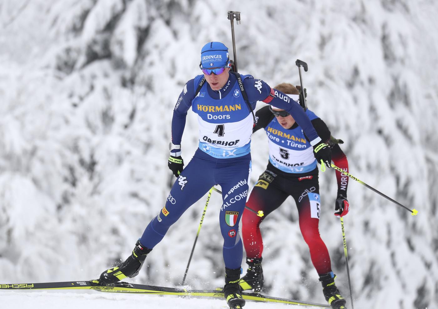 LIVE Biathlon, staffetta maschile Oberhof in DIRETTA: Italia sola al comando dopo tre poligoni!