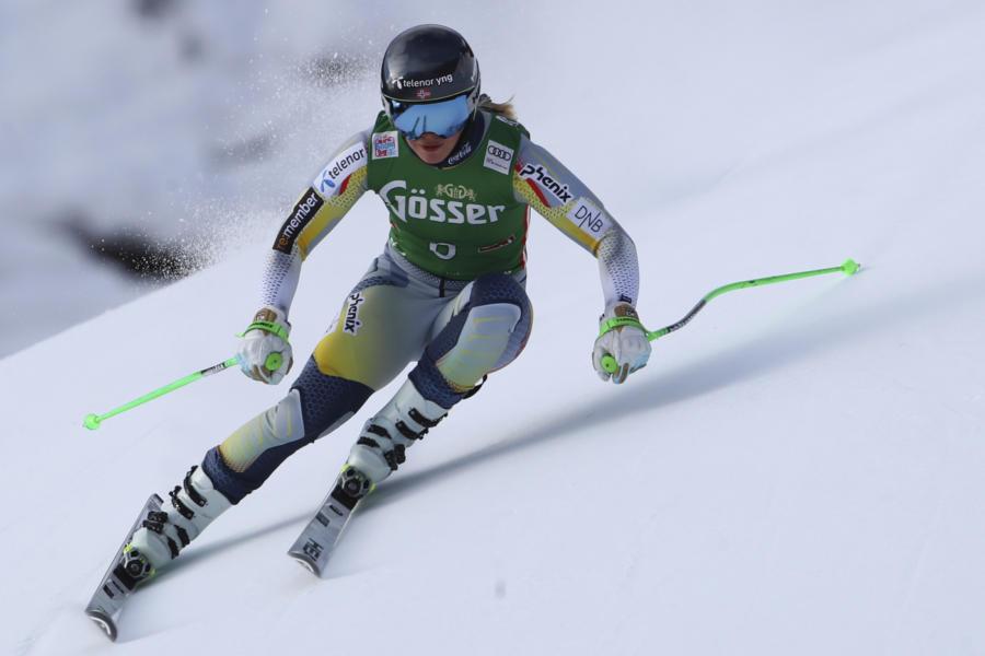 Sci alpino, Sofia Goggia terza nella seconda prova a Crans Montana. Marta Bassino non forza