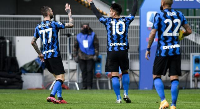 VIDEO Inter-Crotone 6-2, Highlights, gol e sintesi: tripletta di Lautaro Martinez, giostra del gol a San Siro