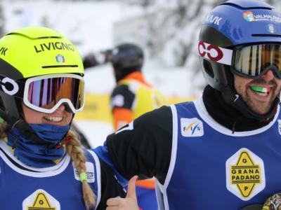 Snowboardcross, Moioli e Sommariva argento nella gara mista dei Mondiali. Oro all'Australia