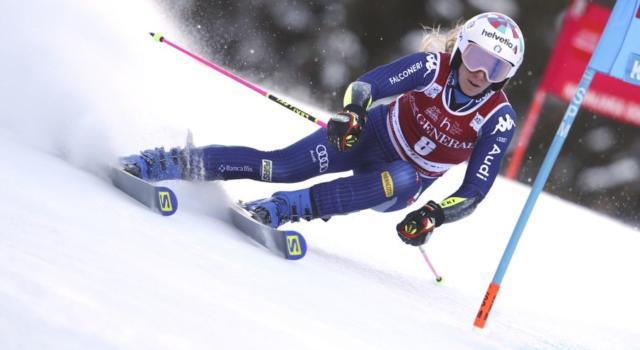 Sci alpino, Marta Bassino l'artista delle nevi! Pennella e vince a Kranjska Gora, che classe!