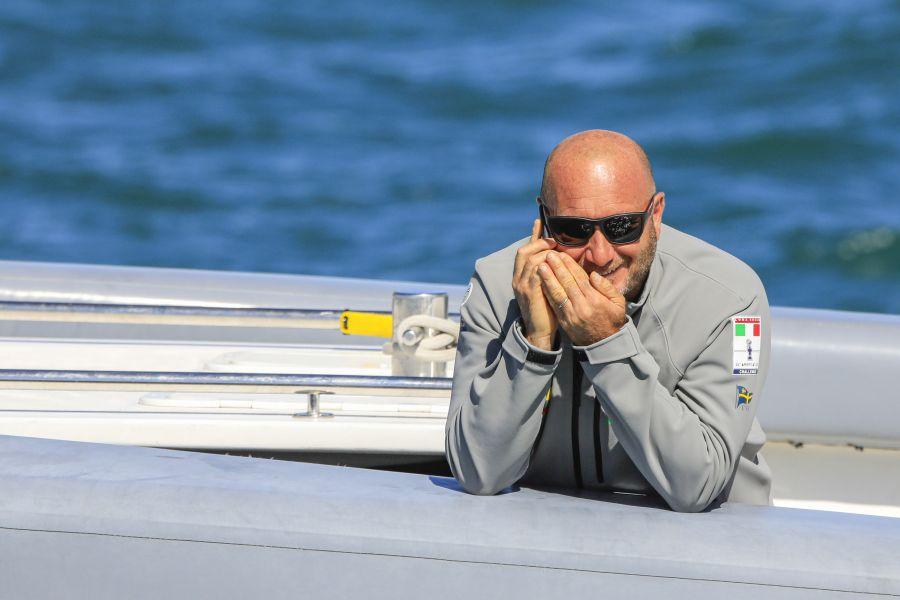 """America's Cup, Max Sirena: """"Stiamo vedendo NZ usare il doppio timoniere, ma non è immediato"""""""