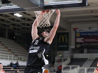 Basket, EuroCup 2020-2021: suicidio Trento, perde ai supplementari con Boulogne