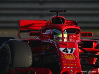 F1, test a Fiorano per la Ferrari: Mick Schumacher al volante della SF71H